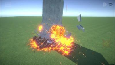 沙箱破坏模拟器游戏截图(1)