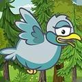 小鸟飞往森林