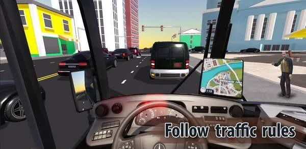 城市巴士司机传说游戏截图(2)